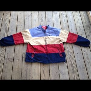 Renowned staple pigeon zip up jacket used size XXL